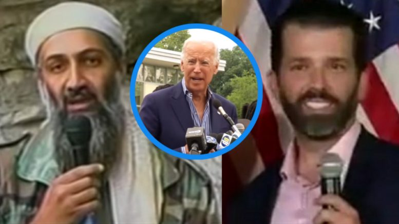 Bin Laden, Biden, Don Jr.